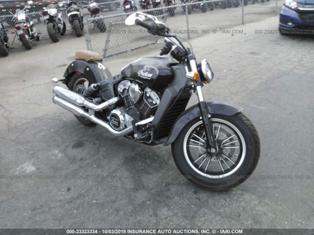 2018 INDIAN MOTORCYCLE CO. SCOUT - Small image. Stock# 23323334