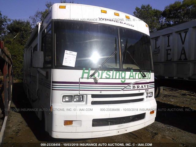click here to view 1999 WINNEBAGO BRAVE (CHEV P30) at IBIDSAFELY
