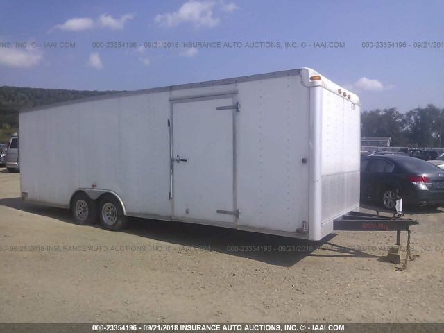 click here to view 2005 CARMATE 24 FT BOX TRAILER at IBIDSAFELY