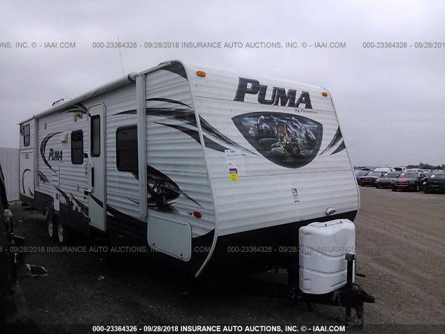 2014 PUMA TRAVEL TRAILER - Small image. Stock# 23364326