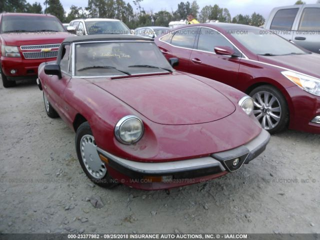 click here to view 1989 ALFA ROMEO SPIDER at IBIDSAFELY