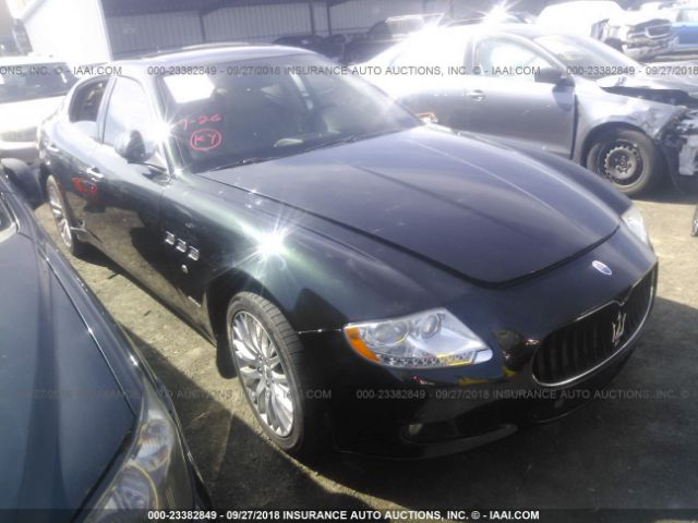 click here to view 2009 MASERATI QUATTROPORTE at IBIDSAFELY