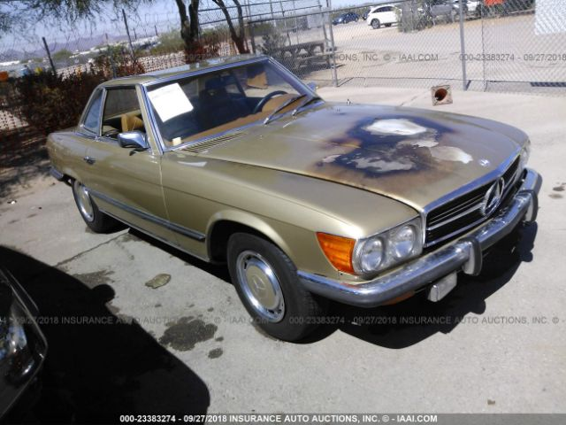 click here to view 1973 MERCEDES 450 SL C at IBIDSAFELY