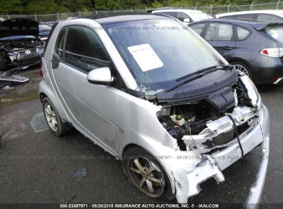 Salvage 2017 Smart Fortwo For
