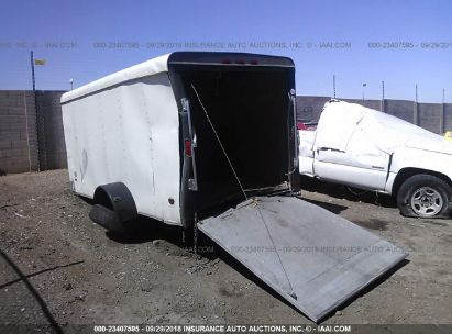 Salvage 1999 PACE AMERICAN TRAILER for sale