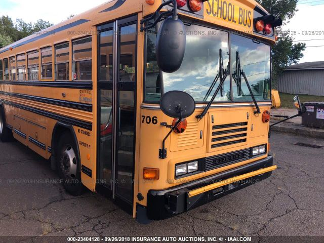 click here to view 2007 BLUE BIRD SCHOOL BUS / TRANSIT BUS at IBIDSAFELY