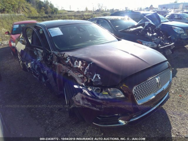 click here to view 2018 LINCOLN CONTINENTAL at IBIDSAFELY