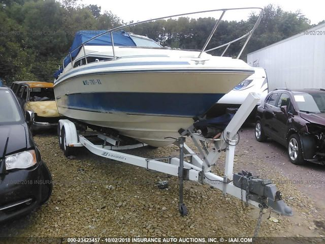click here to view 1986 SEAR BOAT & TRAILER  BOAT 23 F at IBIDSAFELY