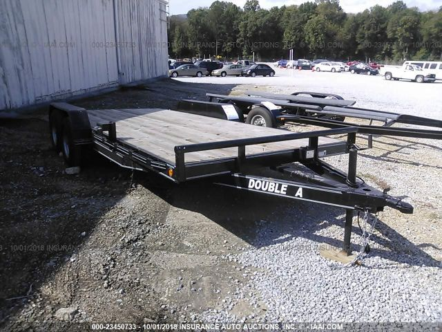 click here to view 2018 DOUBLE A TRAILERS 8318T at IBIDSAFELY