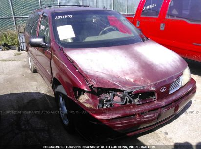 Salvage 2003 OLDSMOBILE SILHOUETTE for sale