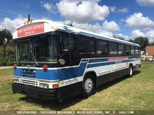 click here to view 1993 BLUE BIRD SCHOOL BUS / TRANSIT BUS at IBIDSAFELY