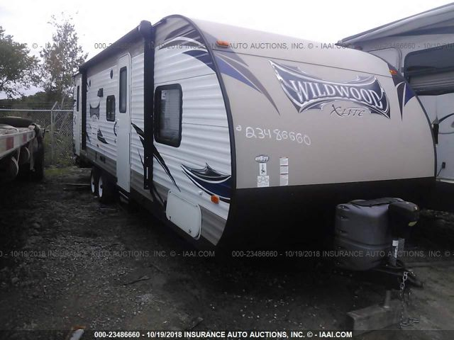 2016 WILDWOOD WDT262BHXL - Small image. Stock# 23486660
