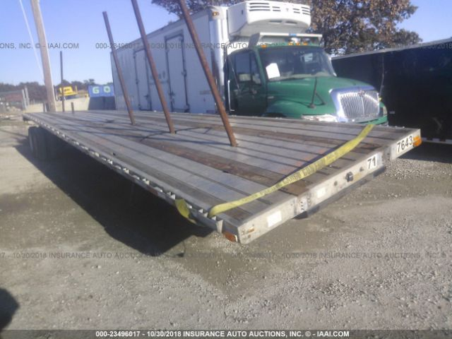 2003 TRANSCRAFT CORP FLATBED - Small image. Stock# 23496017