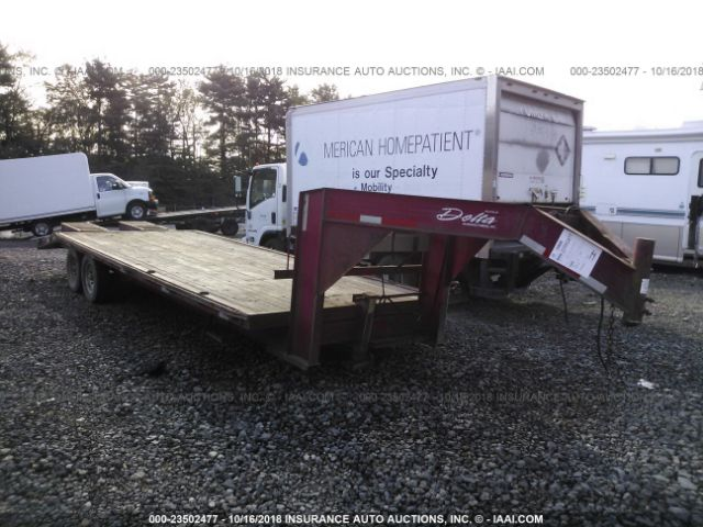 click here to view 2005 DELTA MANUFACTURING INC FLATBED at IBIDSAFELY