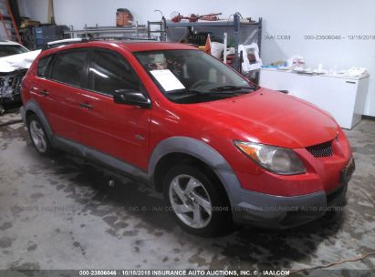 Salvage 2003 PONTIAC VIBE for sale