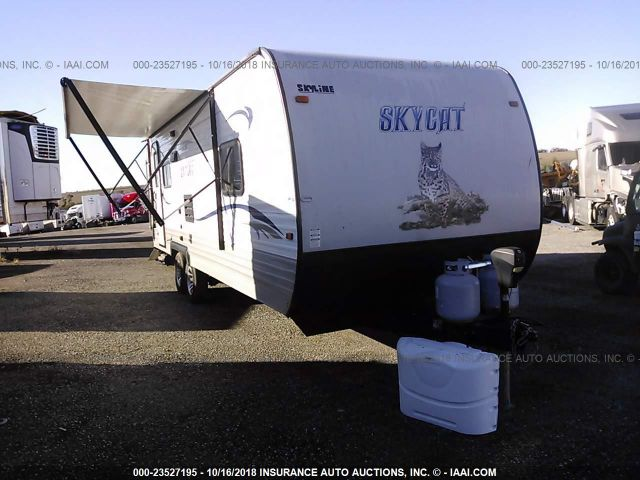 click here to view 2014 SKYLINE SKYCAT 220B at IBIDSAFELY