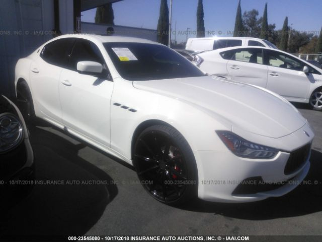 click here to view 2016 MASERATI GHIBLI at IBIDSAFELY