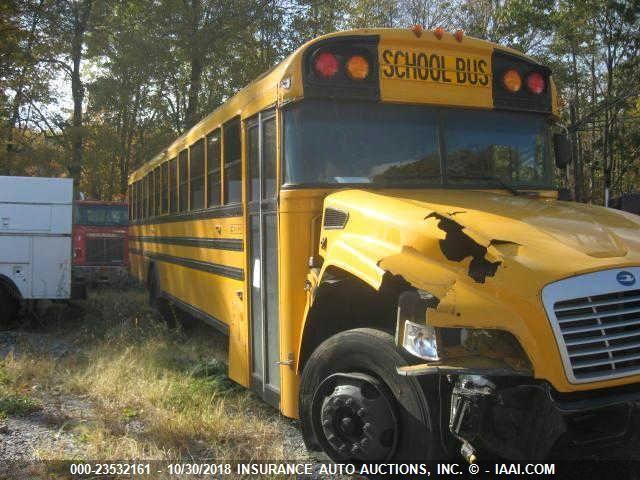 2014 BLUE BIRD SCHOOL BUS / TRANSIT BUS - Small image. Stock# 23532161