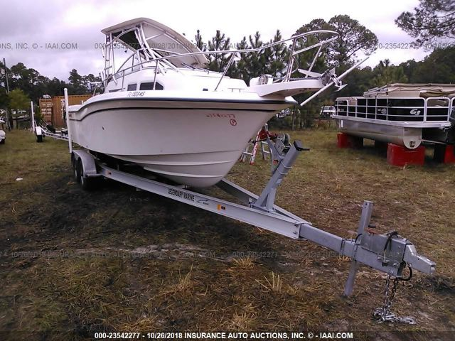 2004 GRADY WHITE 24' CUDDY CABIN BOAT - Small image. Stock# 23542277