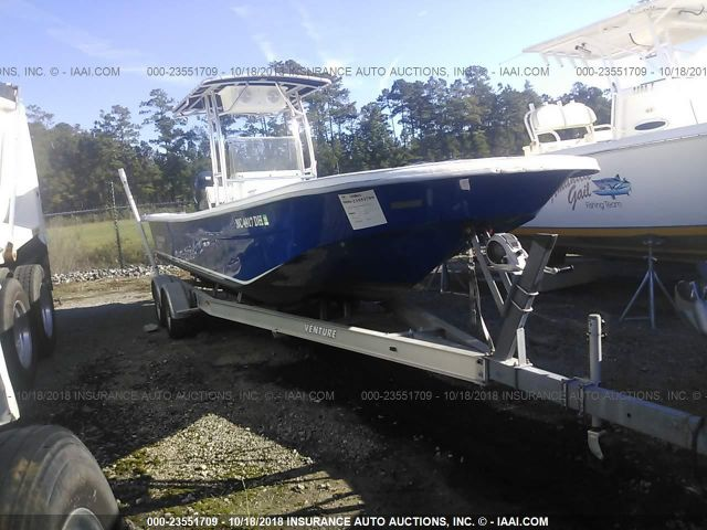 click here to view 2007 CAROLINA SKIFF 258 DLV AND TRAILER at IBIDSAFELY