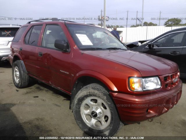 click here to view 2001 ISUZU RODEO at IBIDSAFELY
