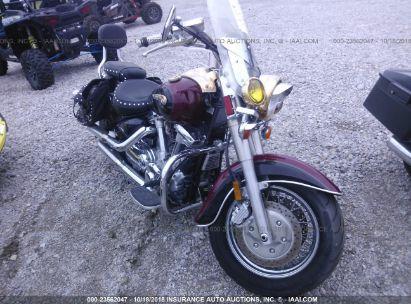 Salvage 2001 YAMAHA XV1600 for sale