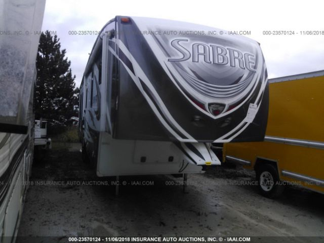 click here to view 2012 FOREST RIVER SABRE FIFTH WHEEL TRAILER at IBIDSAFELY