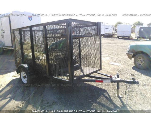 click here to view 2016 HOME MADE LANDSCAPE TRAILER 4X6 at IBIDSAFELY