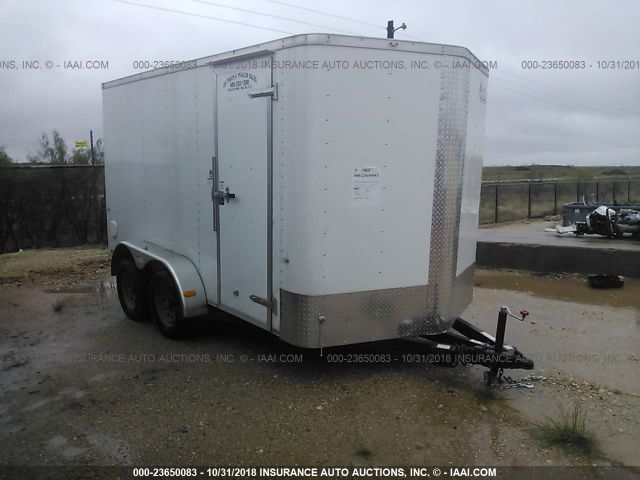 click here to view 2018 7X14 TA ENCLOSED TRAILER at IBIDSAFELY