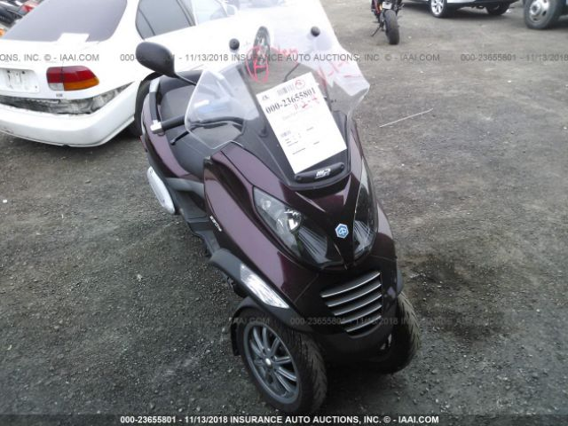 click here to view 2007 PIAGGIO MP3 at IBIDSAFELY
