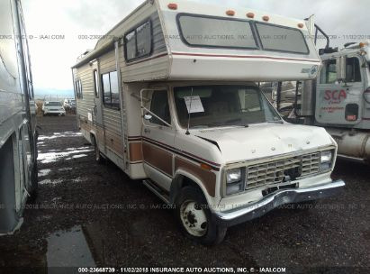 Salvage 1982 JAMBOREE ECONOLINE for sale