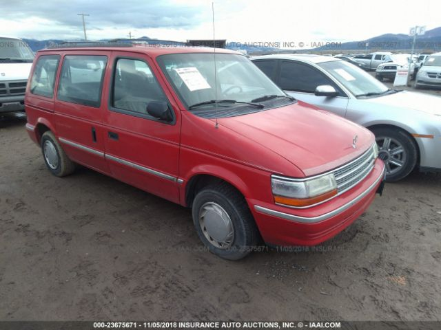click here to view 1992 PLYMOUTH VOYAGER at IBIDSAFELY