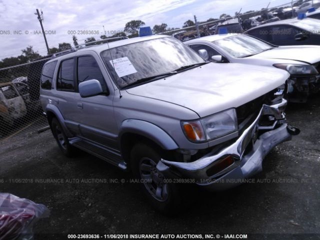 Salvage Car Toyota 4runner 1997 Silver For Sale In Hudson Fl