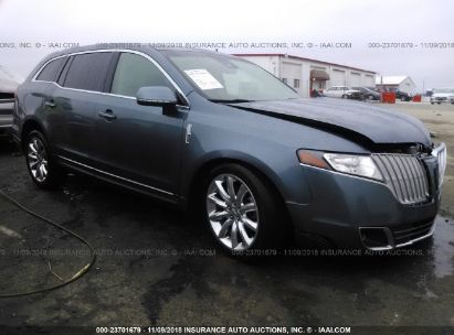Salvage 2010 LINCOLN MKT for sale