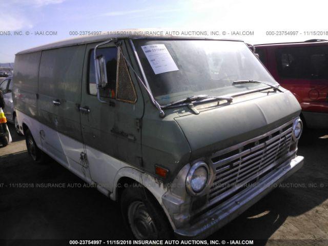 1969 FORD ECONOLINE - Small image. Stock# 23754997
