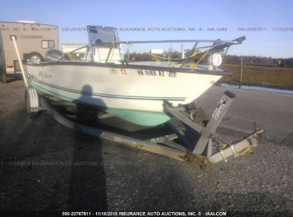 Salvage 2000 KEY LARGO 17FT BOAT for sale