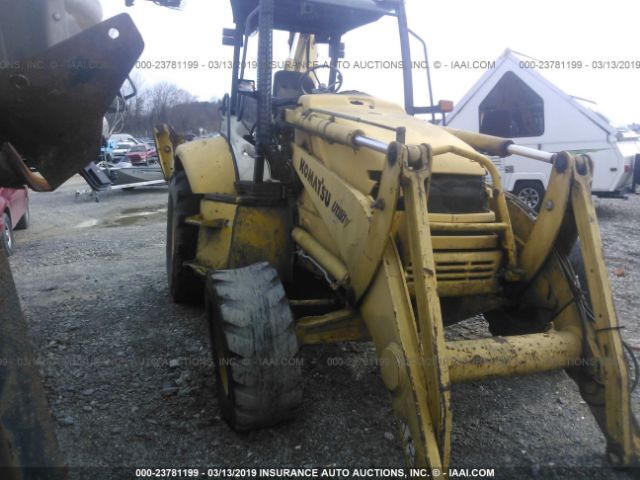 2000 KOMATSU BACKHOE/LOADER - Small image. Stock# 23781199