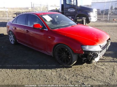 Salvage 2010 AUDI A4 for sale