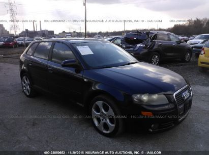 Salvage 2006 AUDI A3 for sale