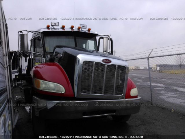 click here to view 2009 PETERBILT 335 at IBIDSAFELY