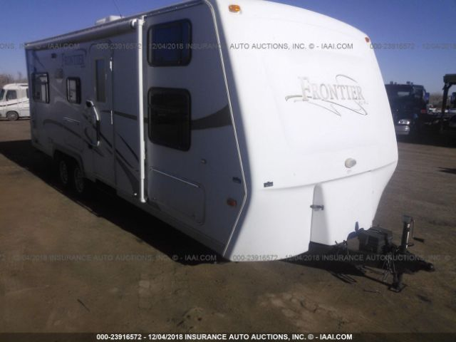 click here to view 2007 KZ INC FRONTIER TRAVEL TRAILERS at IBIDSAFELY