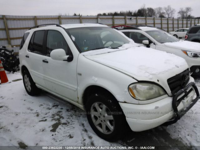 2000 MERCEDES-BENZ ML - Small image. Stock# 23922230