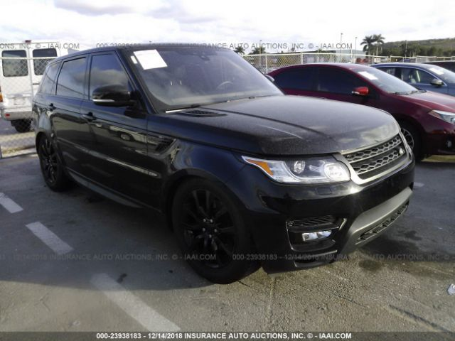 click here to view 2017 LAND ROVER RANGE ROVER SPORT at IBIDSAFELY