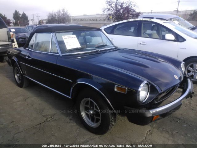 1978 FIAT SPIDER 124 - Small image. Stock# 23964685