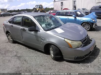 Salvage 2008 FORD FOCUS for sale