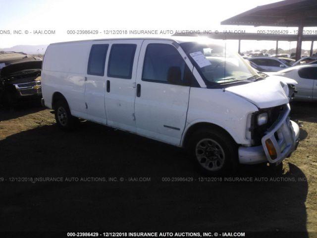 Salvage Title 2000 Gmc Savana 50l For Sale In Phoenix Az 23986429