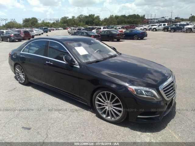 2014 MERCEDES-BENZ S - Small image. Stock# 23995324