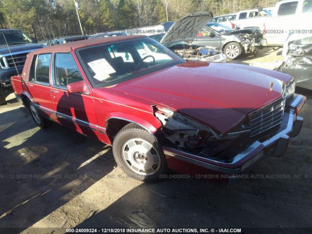 1992 CADILLAC DEVILLE - Small image. Stock# 24009324