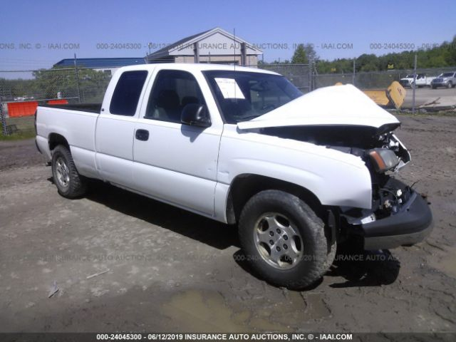 Salvage 2004 CHEVROLET SILVERADO 1500 - Small image. Stock# 24045300