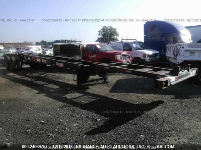 click here to view 1985 TRINITY TRAILER MFG INC 40FT GOOSENECK CHASSIS at IBIDSAFELY